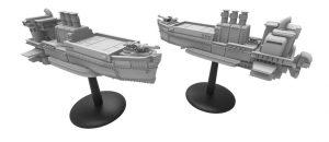 Rendering of the Scythe airships