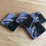 Krähenmarker für Dre- und Vierspielervariante von Game of Thrones - Die Hand des Königs