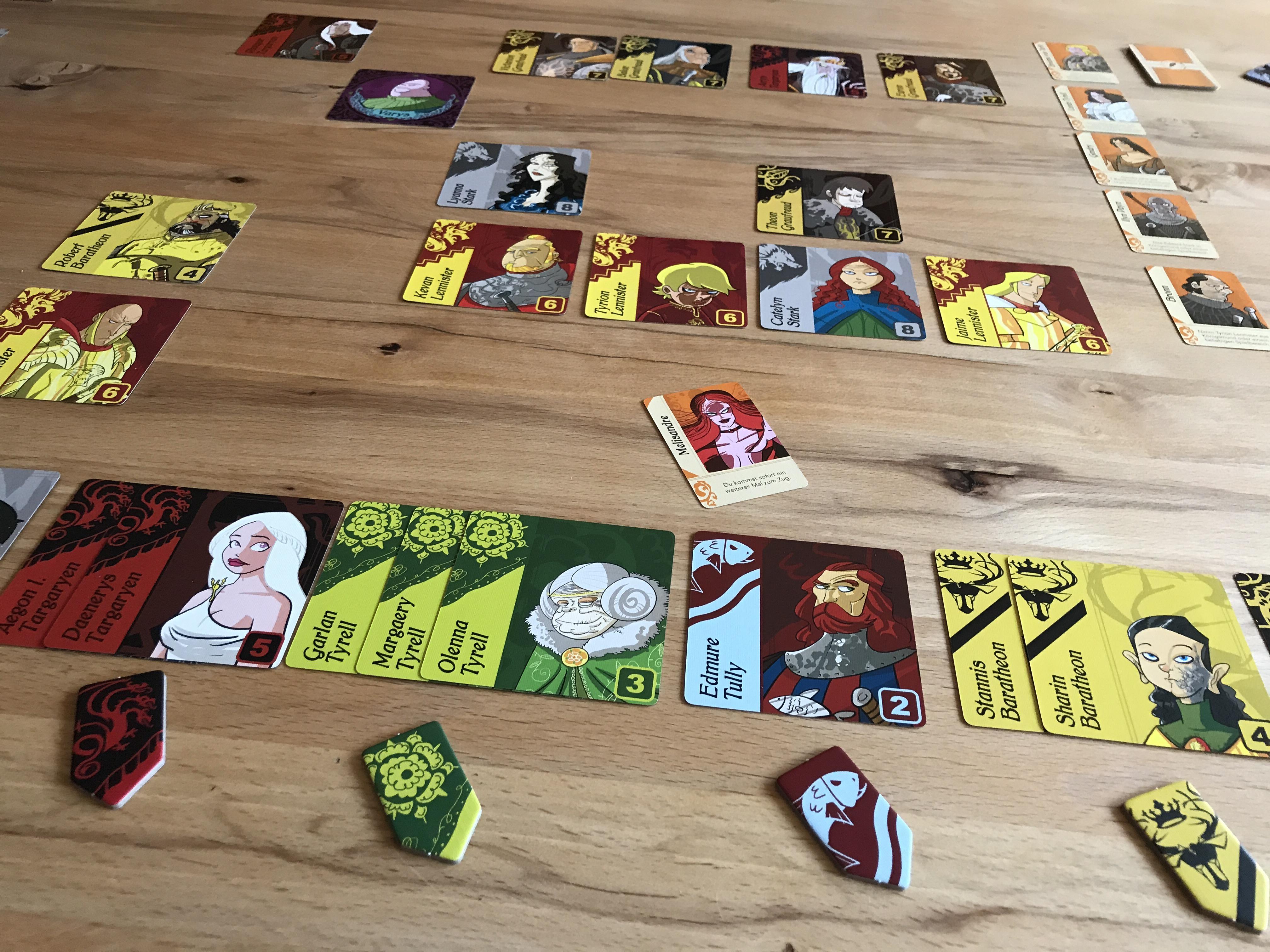 Spielbereich von Game of Thrones - Die Hand des Königs