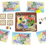 Spielaufbau Steamrollers von Flatlined Games