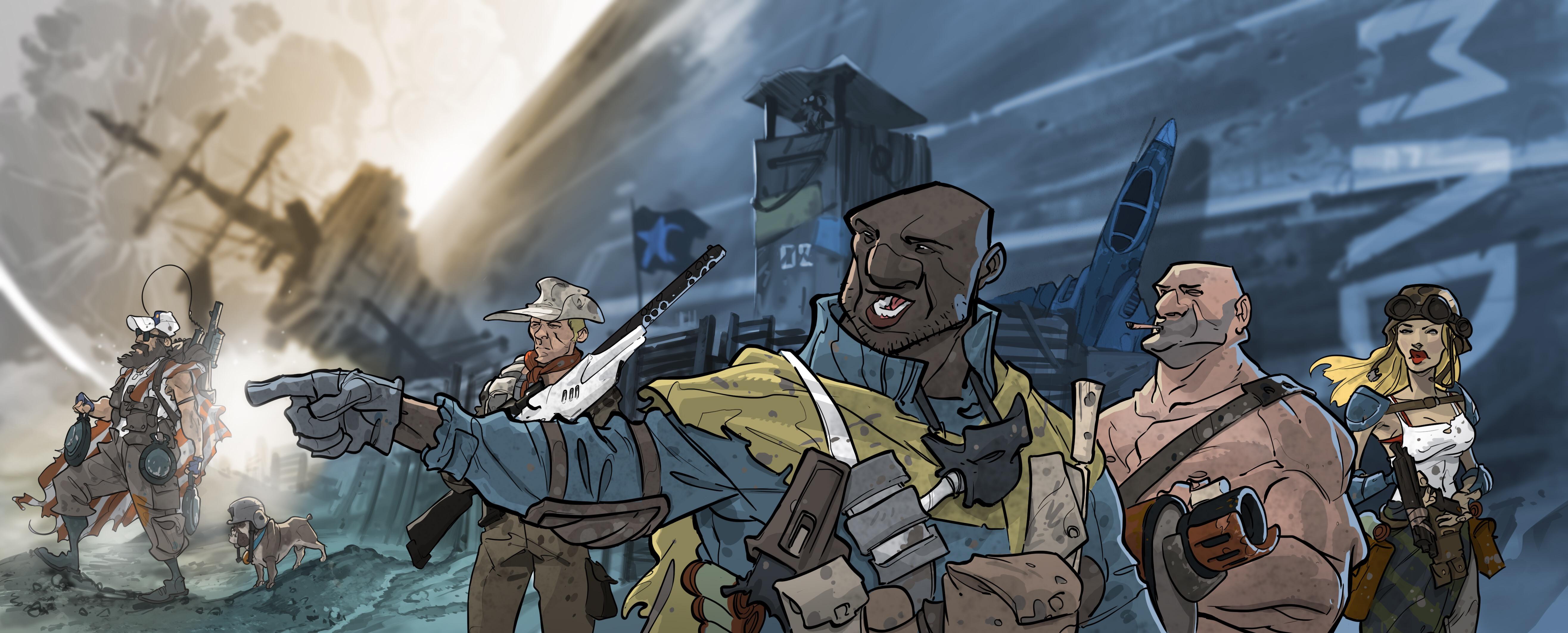 Artwork von Tsykuyumi von Felix Mertikat bei King Racoon Games