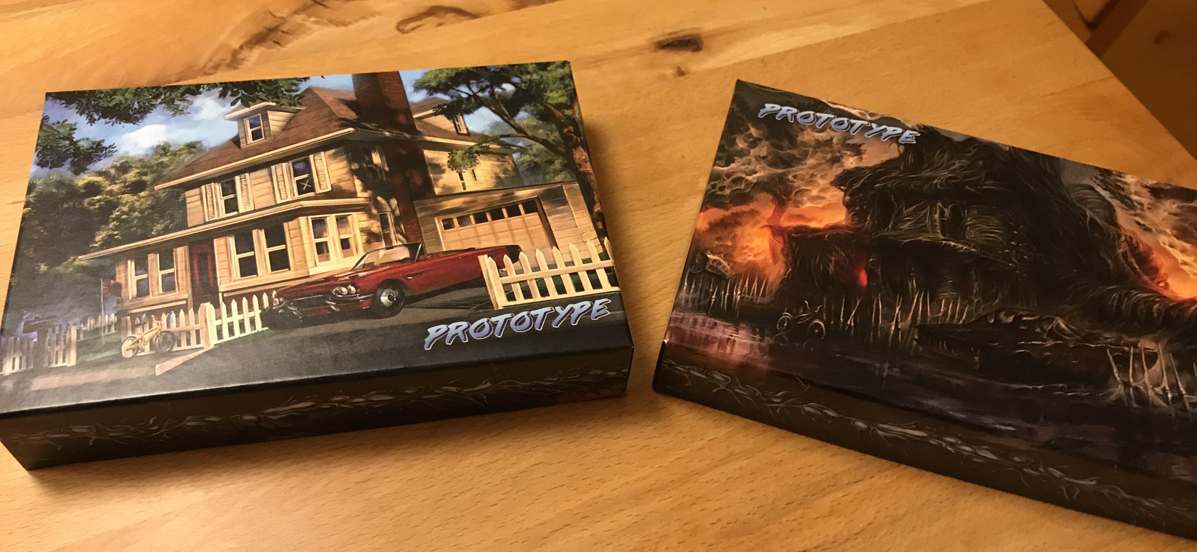 Zweiseitiges Schachtel-Cover von Inbetween