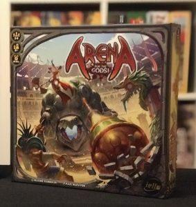 Schachtel von Arena for the Gods! Von iello