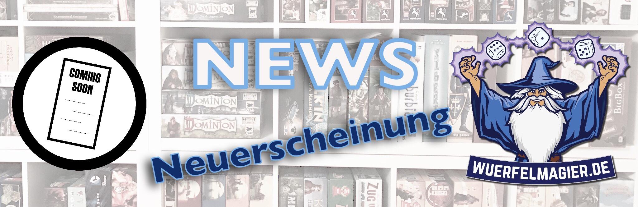 News Neuerscheinung Würfelmagier Brettspiel Blog