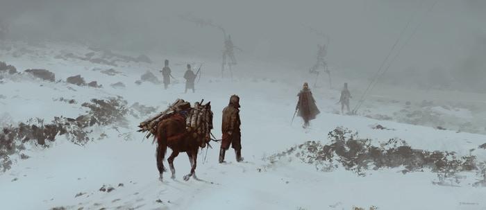 Teaser zur dritten Erweiterung von Scythe von Stonemaier Games / Feuerland Spiele