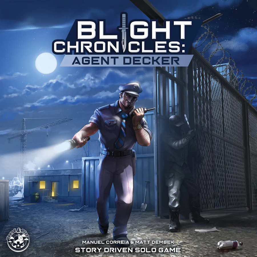 Blight Chronicles: Agent Decker von Board&Dice