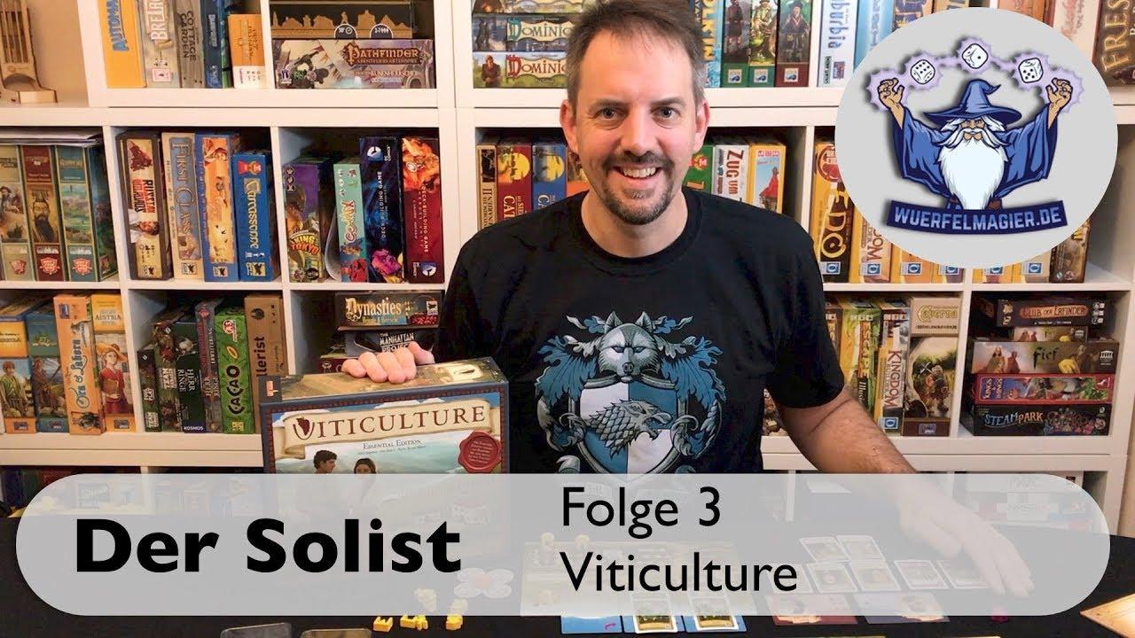 Der Solist Viticulture Stonemaier Games Jamey Stegmaier