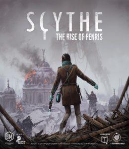 Vorläufiges Box-Design von Scythe: The Rise of Fenris