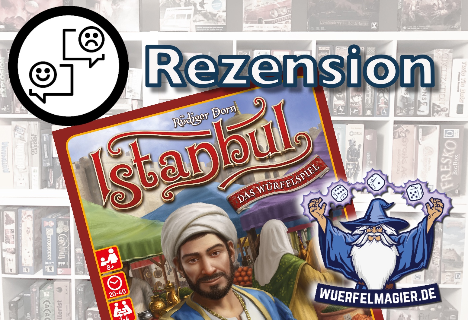 Rezension Istanbul Würfelspiel Würfelmagier Wuerfelmagier