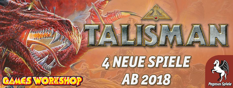 Talisman neue Spiele Pegasus