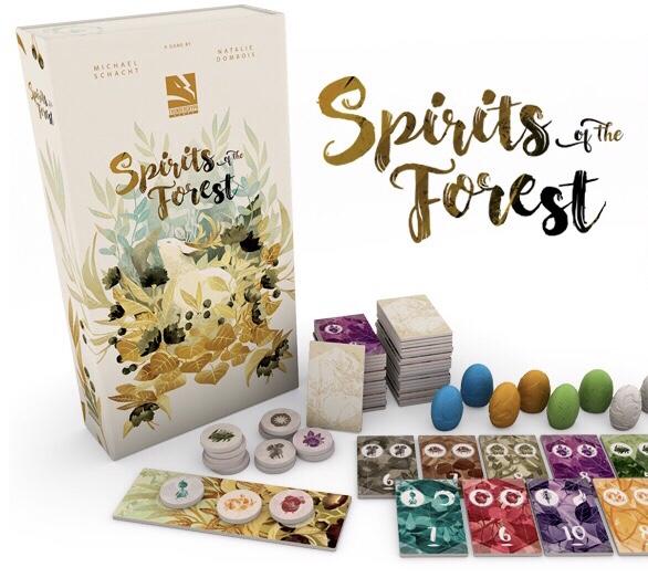 Übersicht Spirits of the Forest von Michael Schacht bei Thundergryph Games