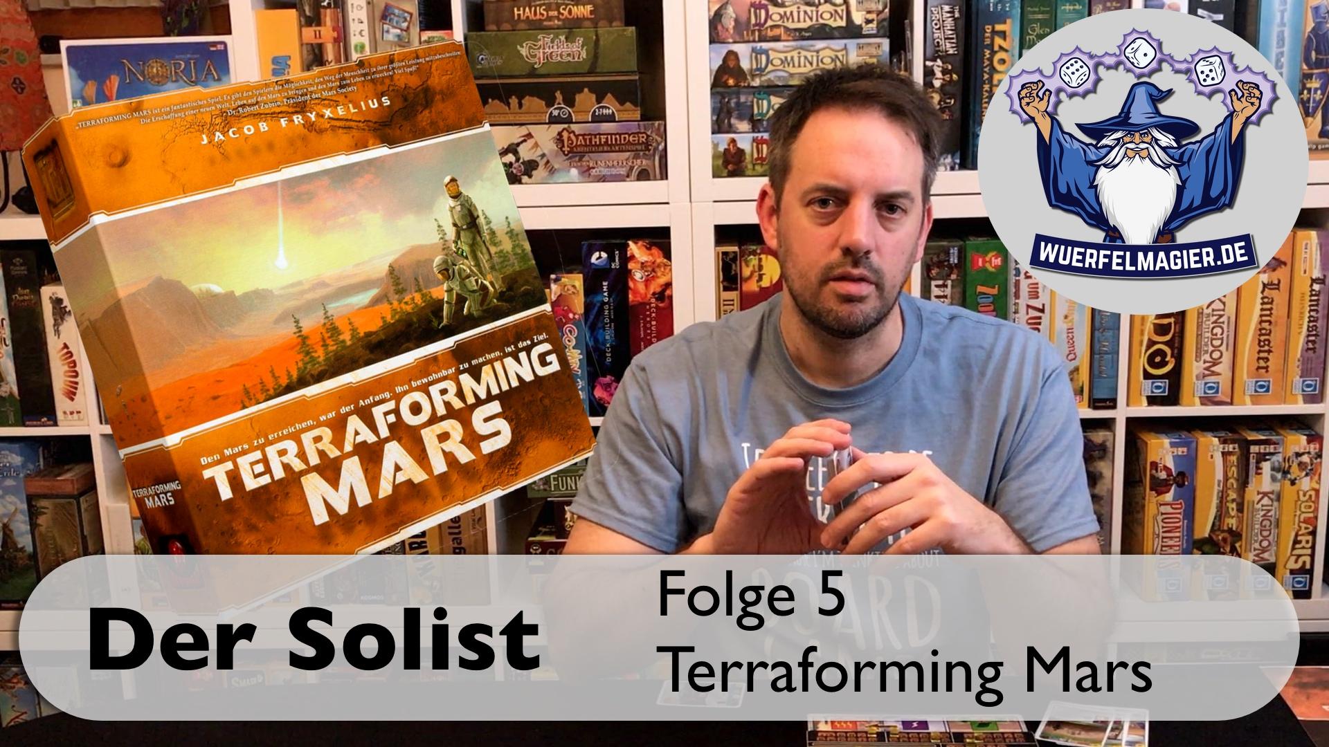 Würfelmagier Terraforming Mars Solo Solist Youtube