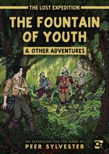 The Lost Expedition Expansion Erweiterung Fountain of Youth