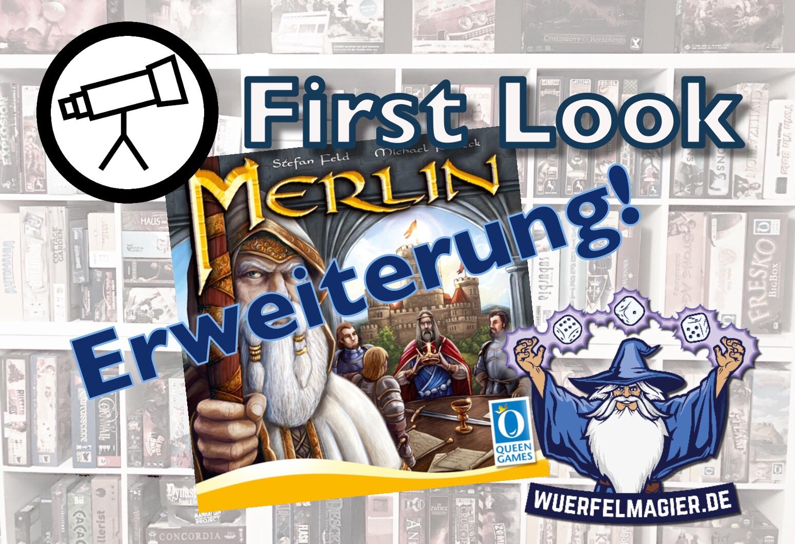 First Look Merlin Erweiterung Queen Games