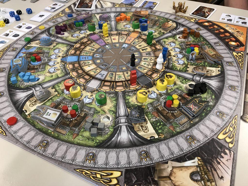Merlin Queen Games Erweiterung Prototype