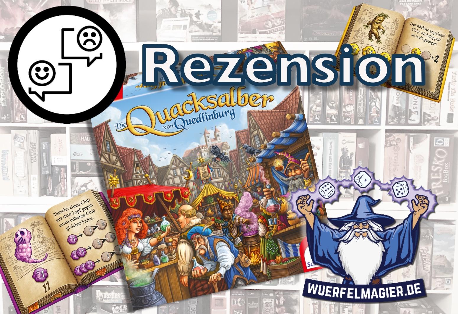 Rezension Quacksalber von Quedlinburg Würfelmagier Wuerfelmagier