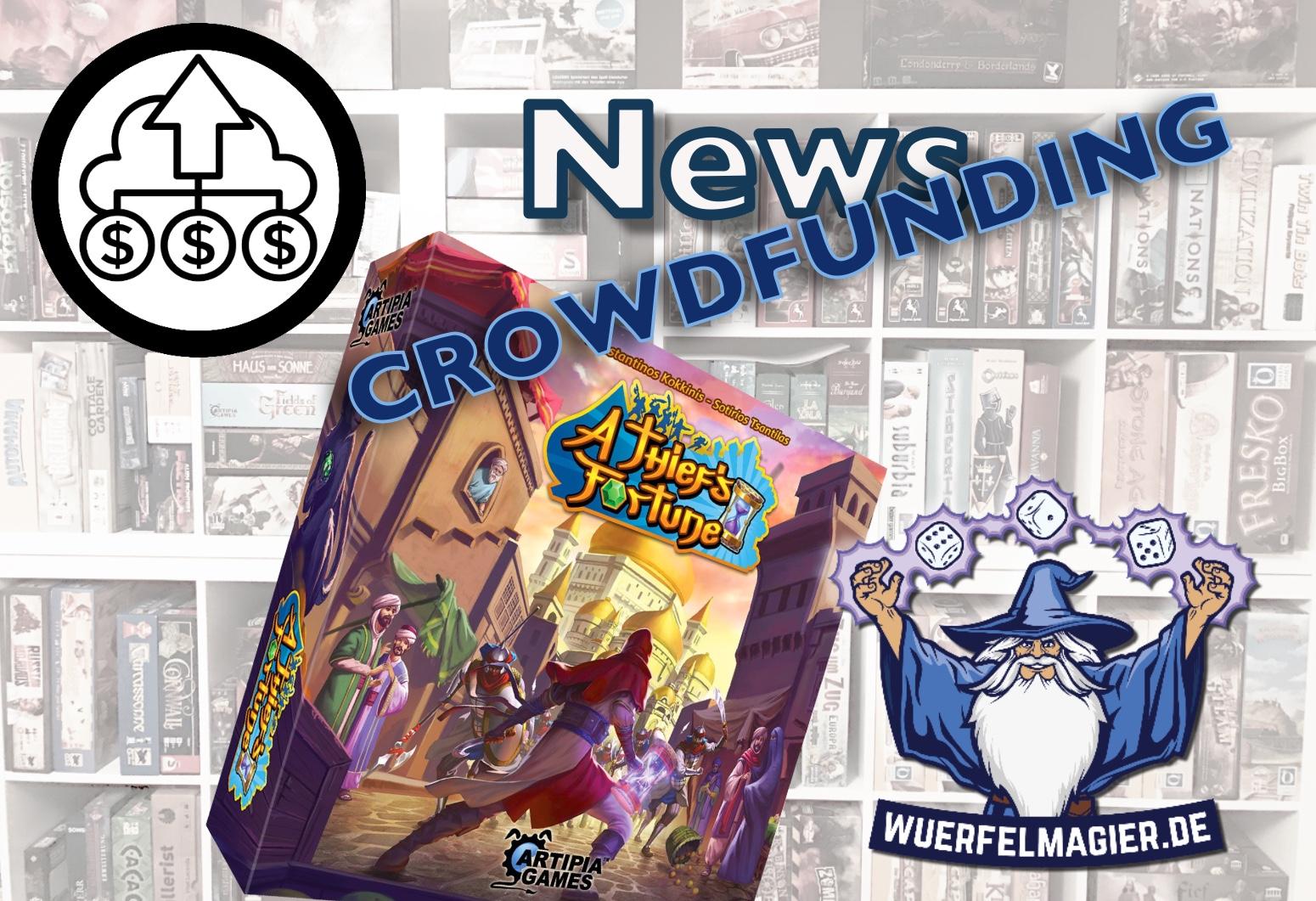 News Crowdfunding Artipia Games A Thief's Fortune