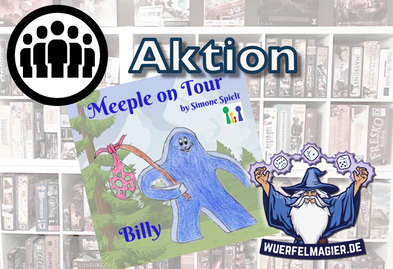 Meeple on Tour Simone spielt Wuerfelmagier Würfelmagier