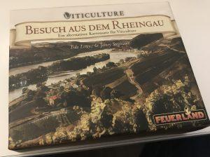 Viticulture Feuerland Spiele Besuch aus dem Rheingau