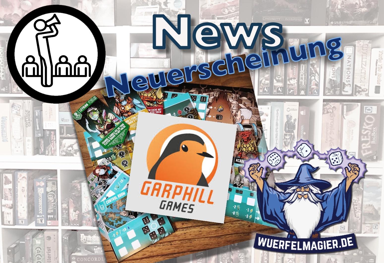 Garphill Games News Neuerscheinung Wuerfelmagier Würfelmagier