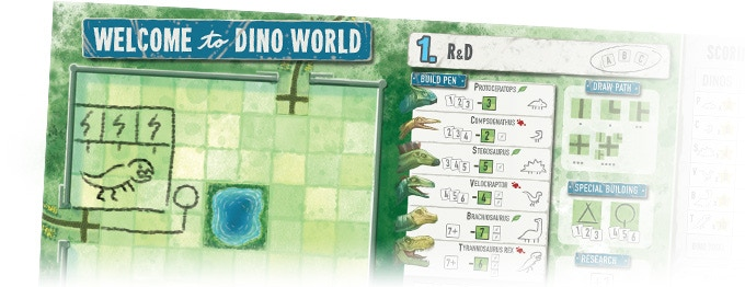Welcome to Dino Park Alley Cat Games Würfelmagier Wuerfelmagier Crowdfunding