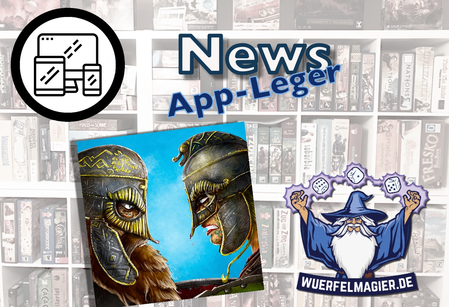Räuber der Nordsee Raiders of the North Sea App-Leger App iOS Android