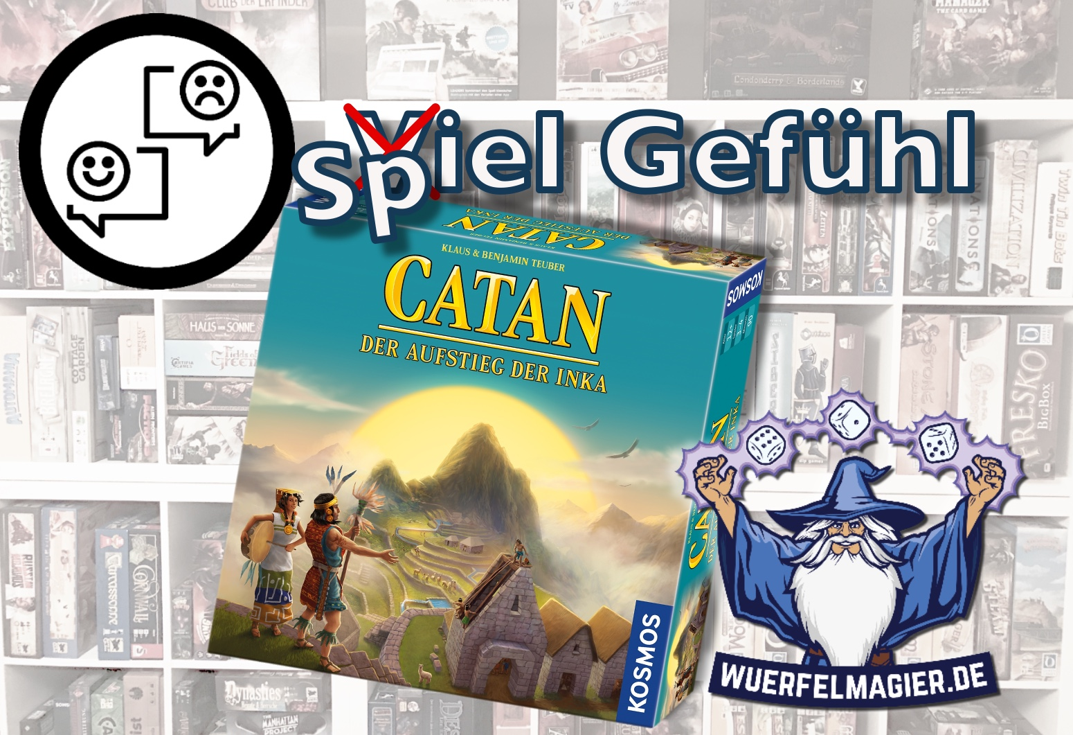 Rezension Spiel Gefühl Würfelmagier Wuerfelmagier Catan Aufstieg der Inka