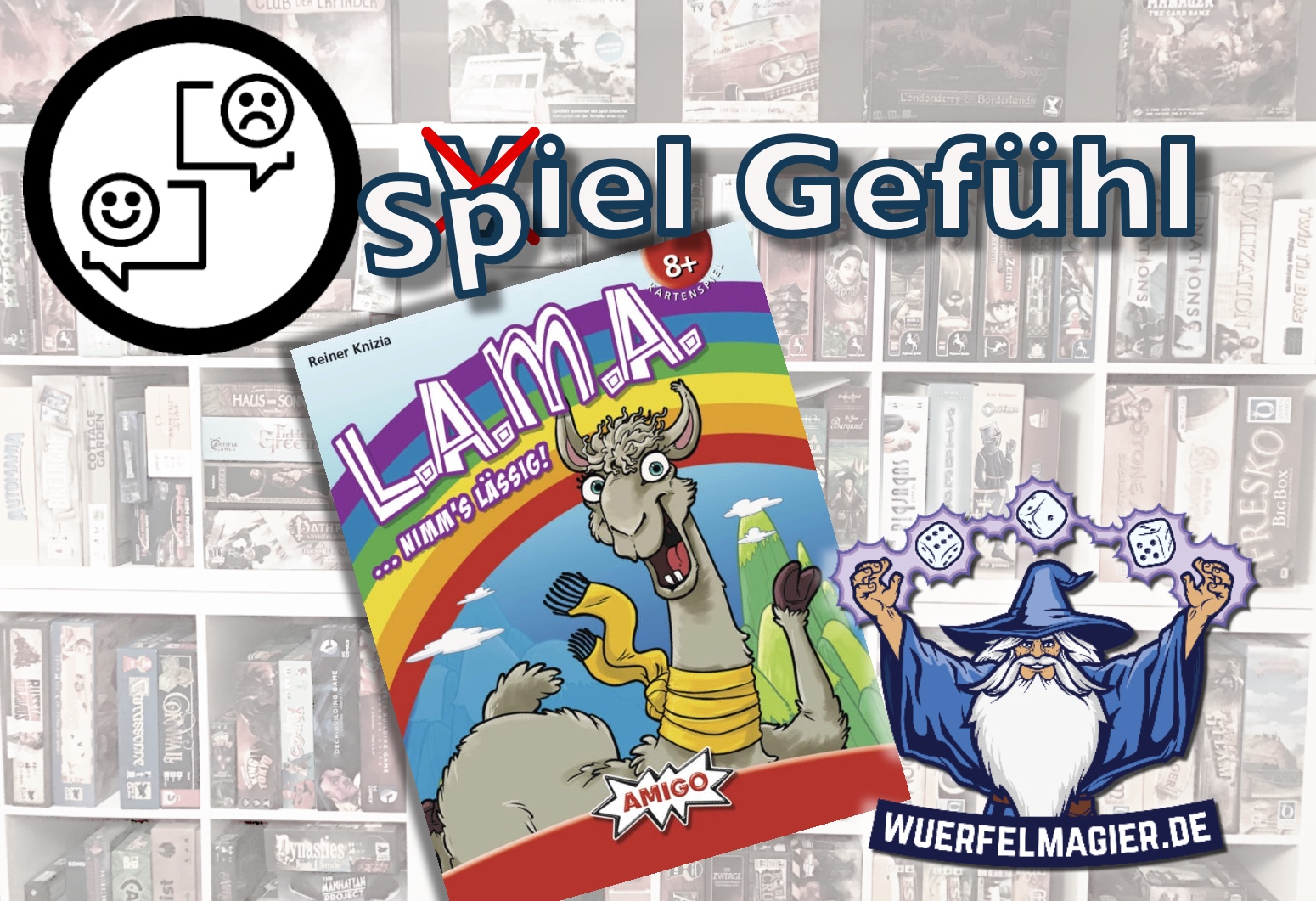 L.A.M.A. Lama Amigo Spiele Wuerfelmagier Würfelmagier Spiel Gefühl Rezension