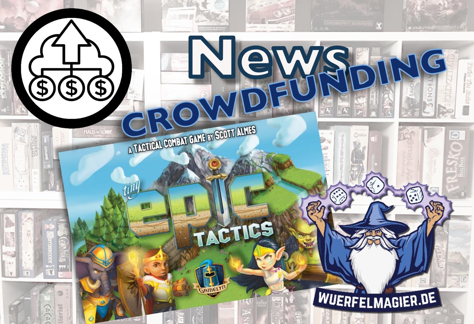 Tiny Epic Tactics Crowdfunding News Wuerfelmagier Würfelmagier