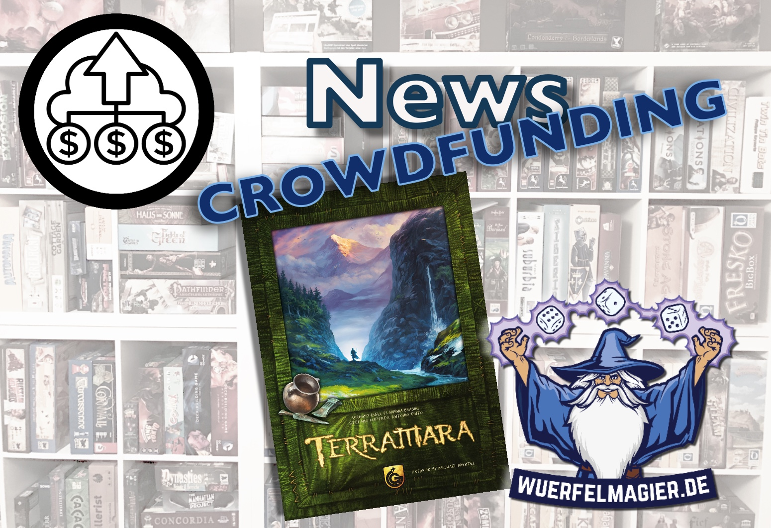 Terramara News Crowdfunding Quined Games Wuerfelmagier Würfelmagier