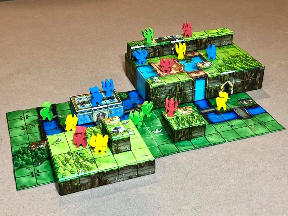 News Crowdfuning Tiny Epic Tactics Wuerfelmagier Würfelmagier Gamelyn Games