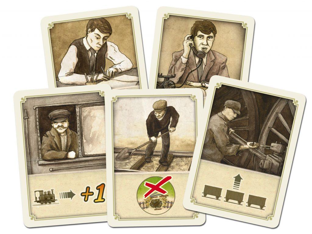 News Crowdfunding Kickstarter Cargo Express Compass Games Charakterkarten