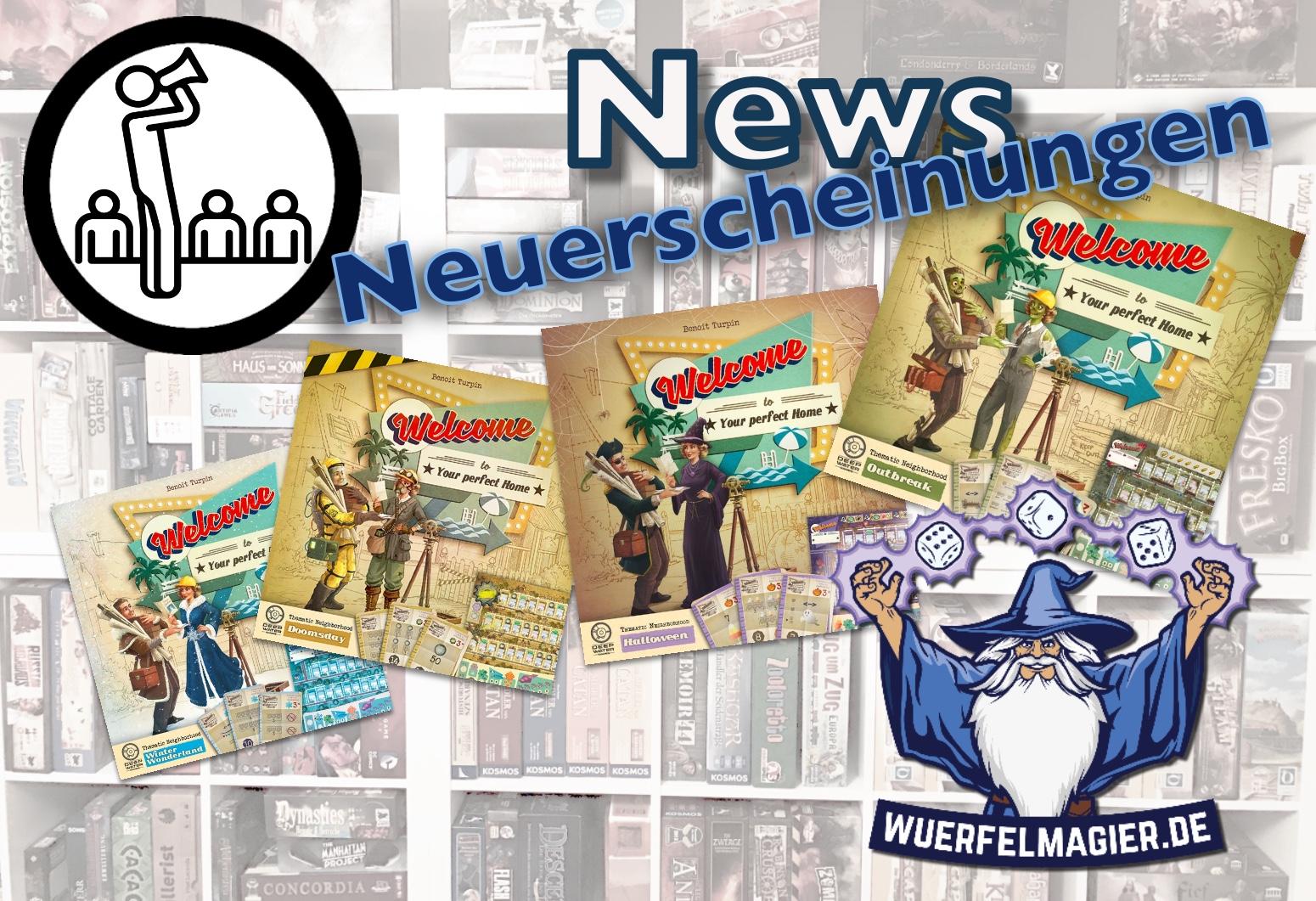 News Neuerscheinung Welcome To Wuerfelmagier Würfelmagier