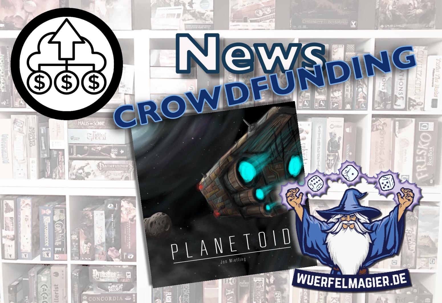 News Kickstarter Planetoid Wuerfelmagier Würfelmagier