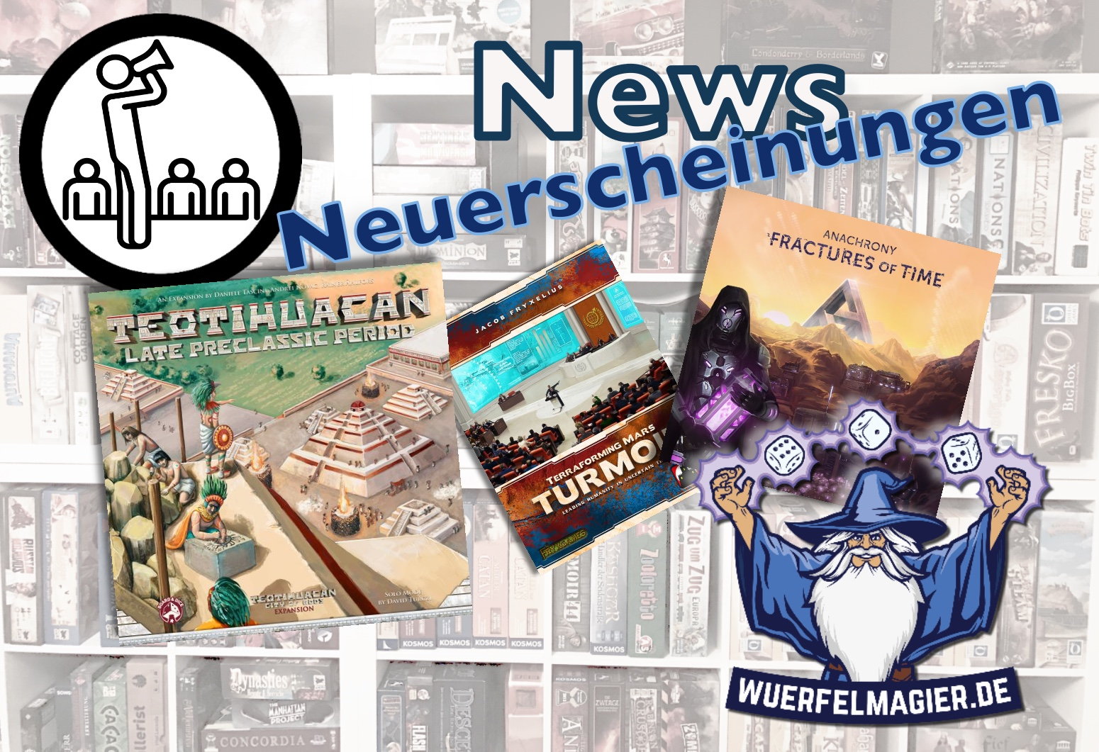News Anachrony Terra Mystica Terraforming Mars Teotihuacan