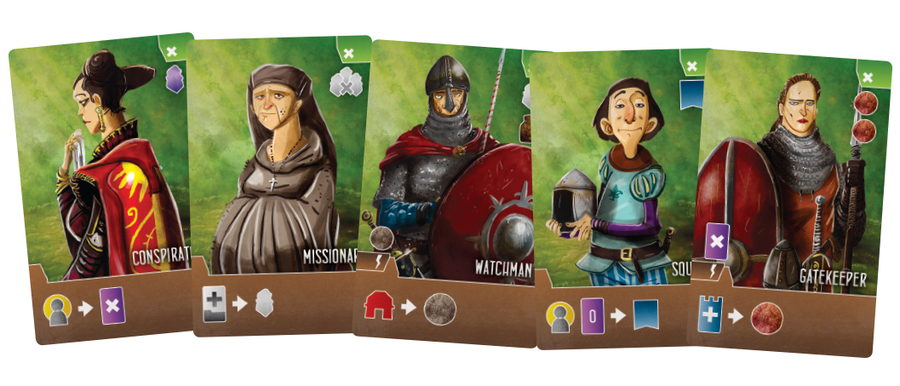 First Look Paladines of the West Kingdom Paladine des Westfrankenreichs Wuerfelmagier Würfelmagier