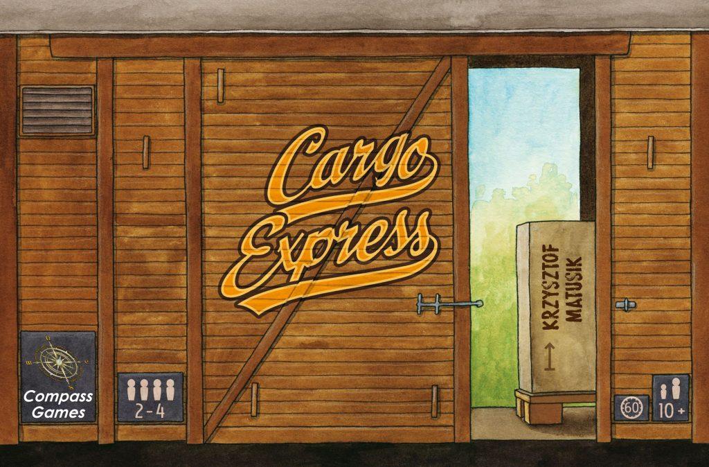News Crowdfunding Kickstarter Cargo Express Compass Games Schachteldesign