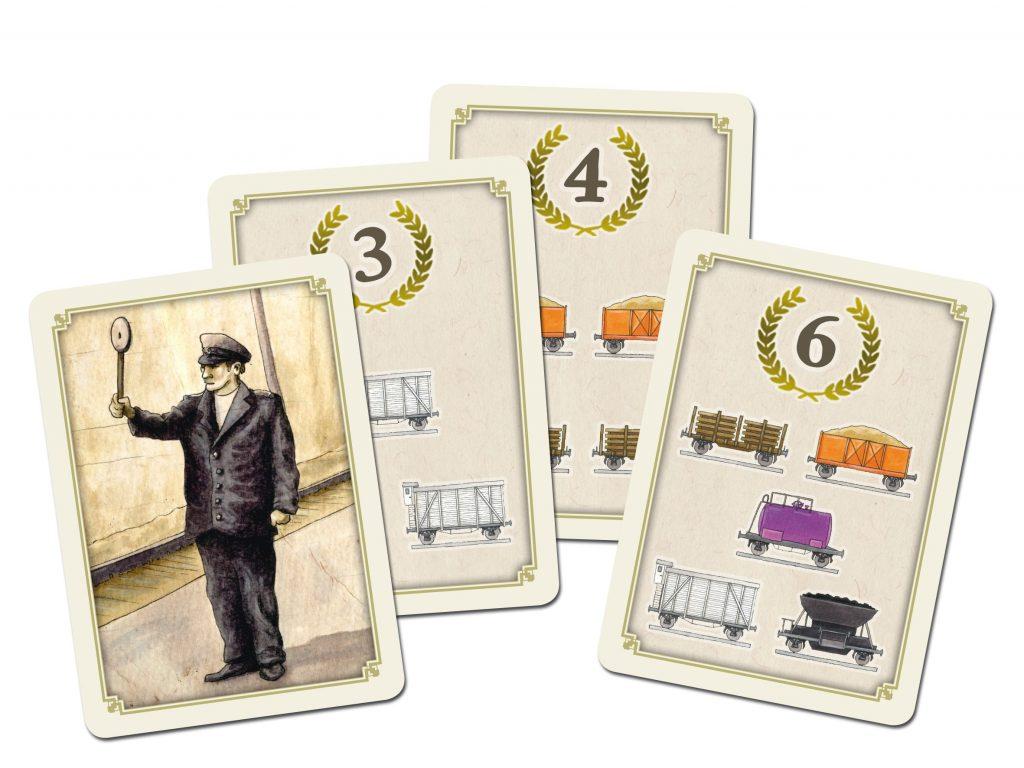 News Crowdfunding Kickstarter Cargo Express Compass Games Auftragskarten