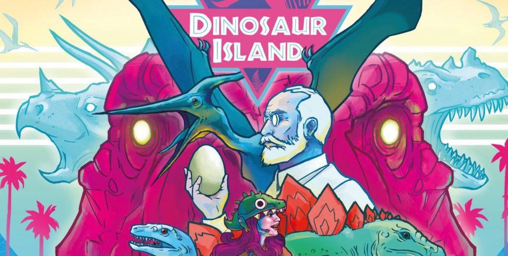 News Neuerscheinung Dinosaur Island Feuerland Wuerfelmagier Würfelmagier