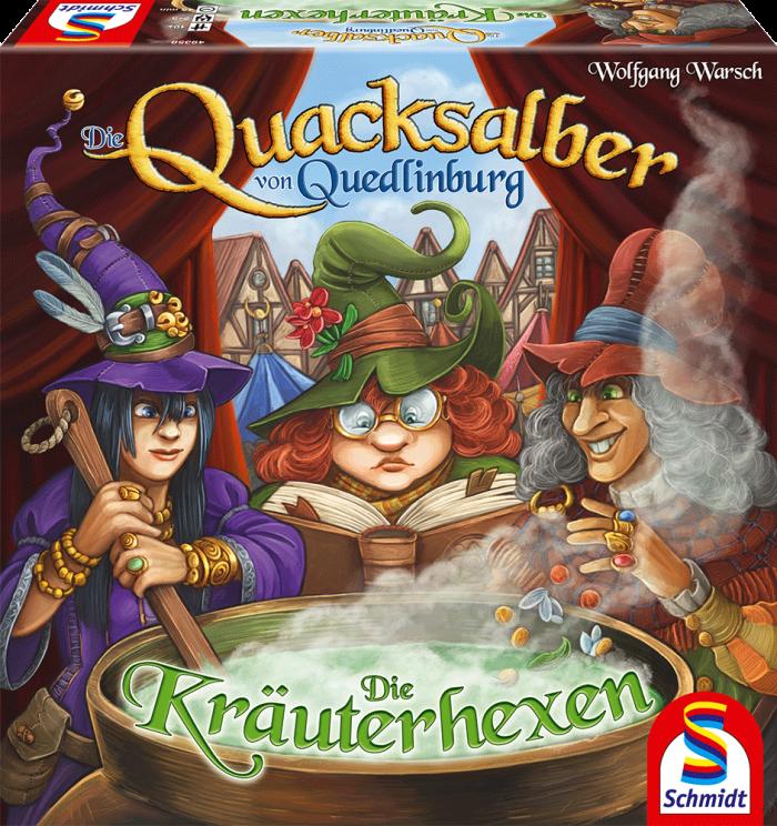 Erweiterung Quacksalber Quedlinburg Kräuterhexen Schmidt Spiele
