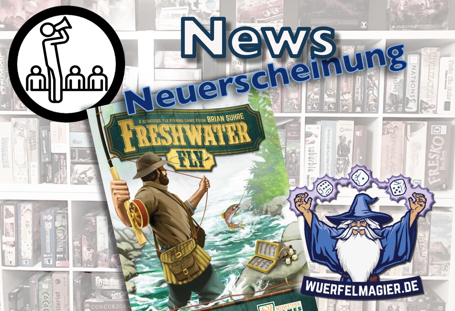 News Neuerscheinung Freshwater Fly Spielfaible