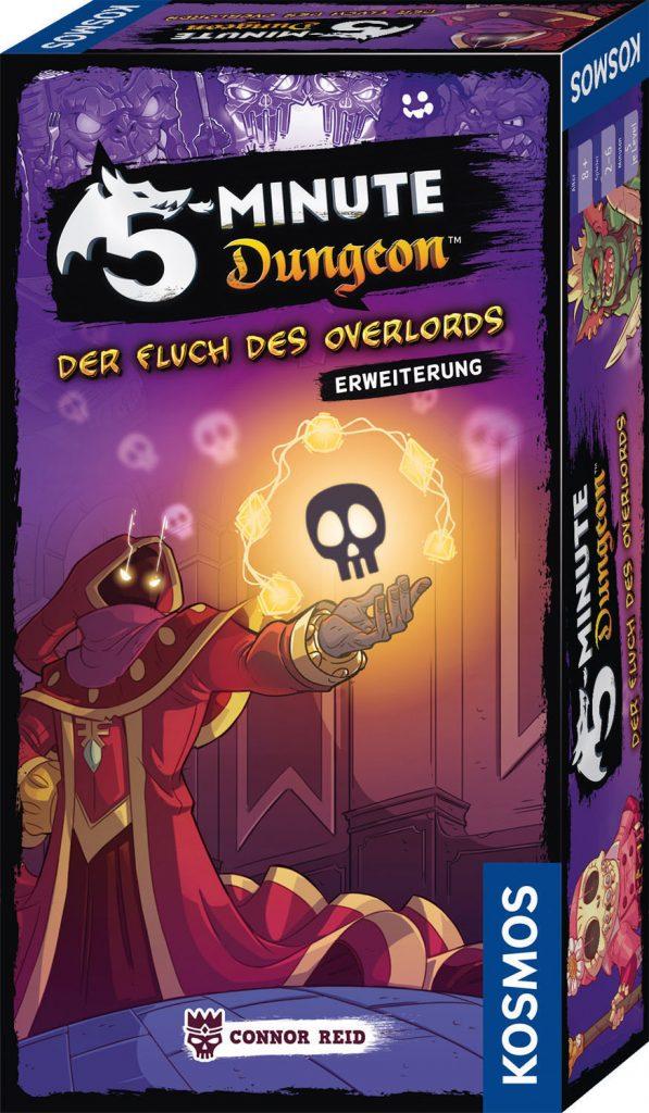 Erweiterung 5 Minute Dungeon Kosmos Verlag Fluch Overlord