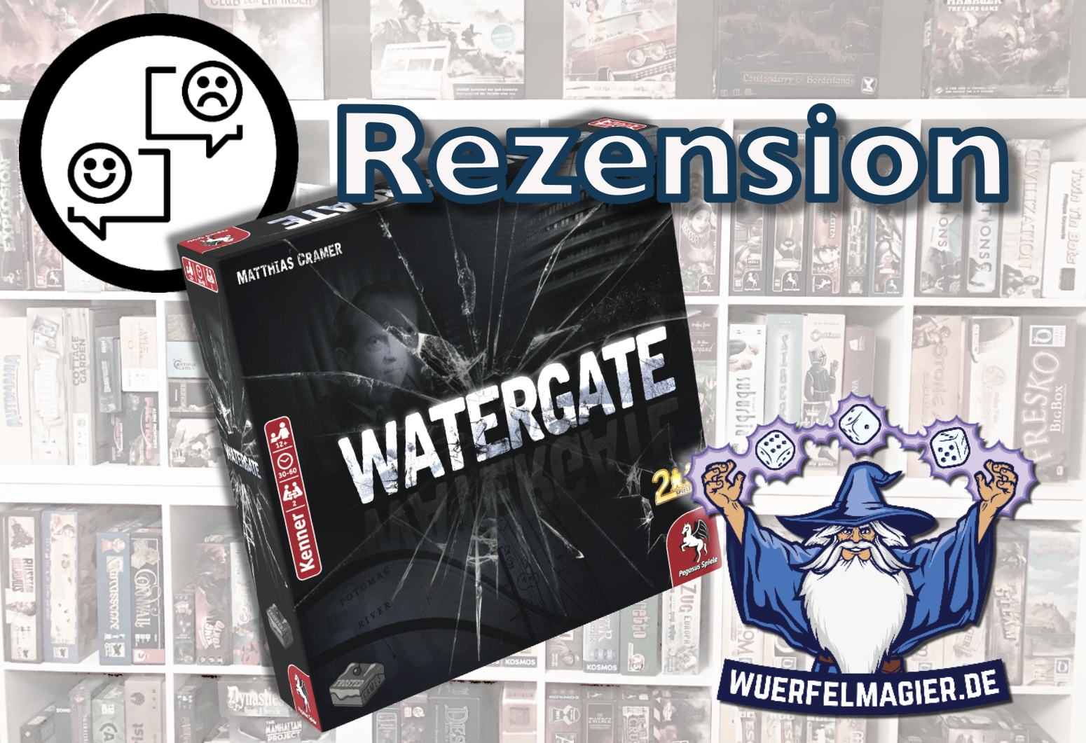 Watergate Pegasus Spiele Frosted Games
