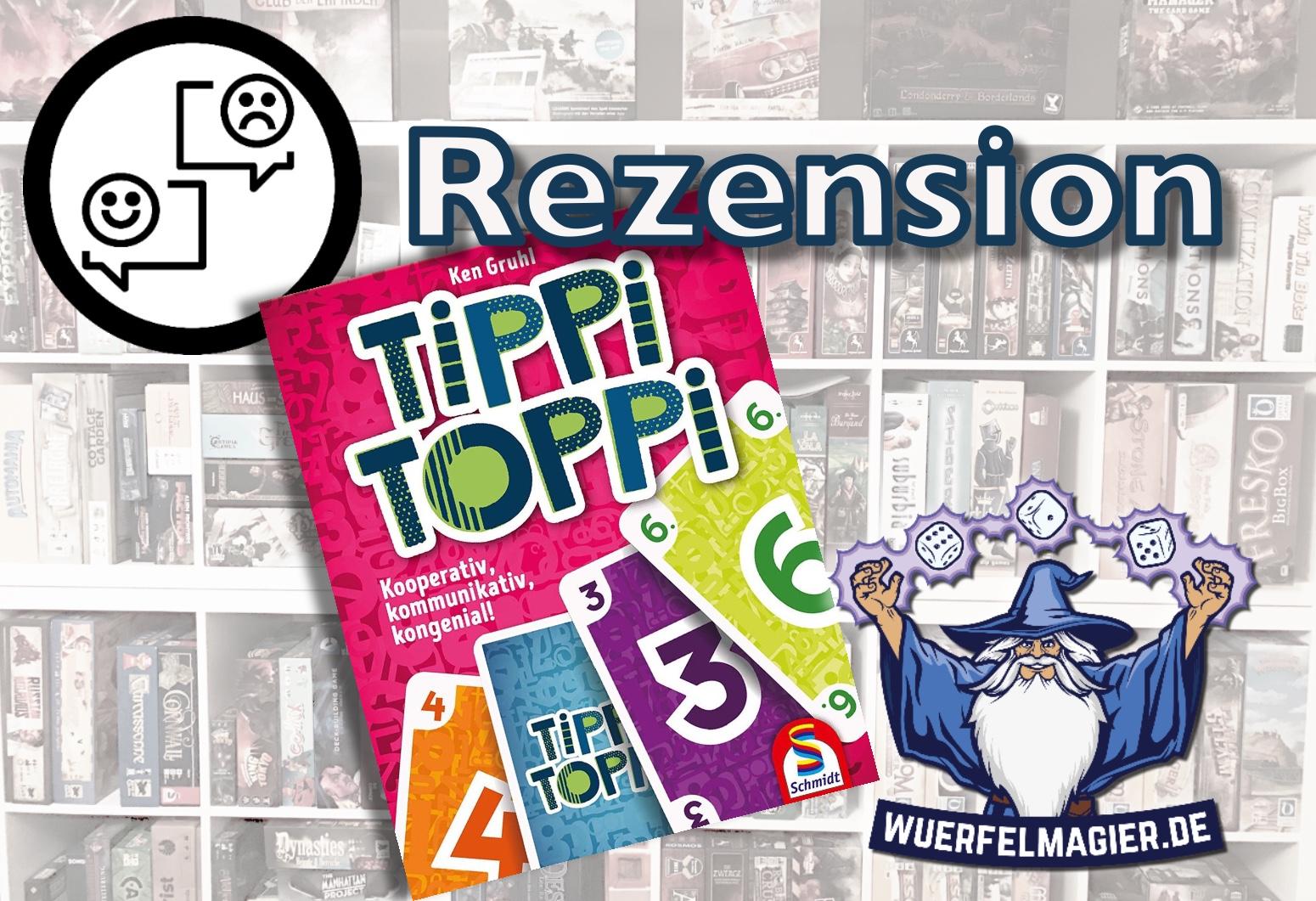 Rezension Tippi Toppi Schmidt Spiele