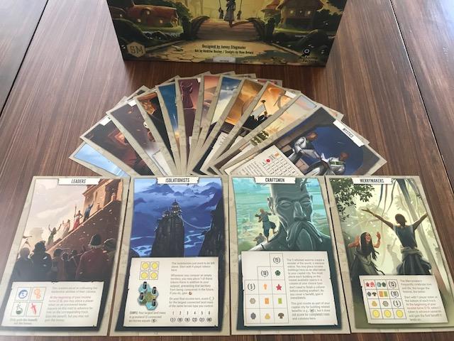 Tapestry Stonemaier Games Feuerland Spiele Zivilisationskarten