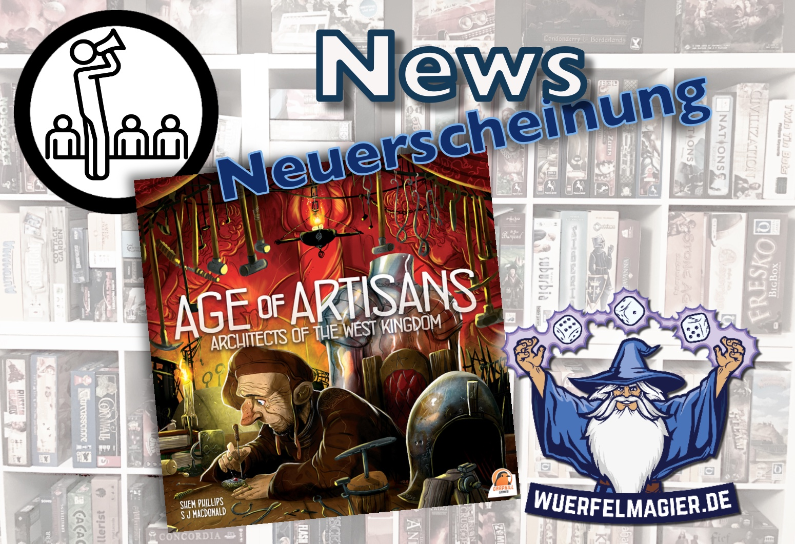 News Neuerscheinung Garphil Games Archtiects West Kingdom Expansion