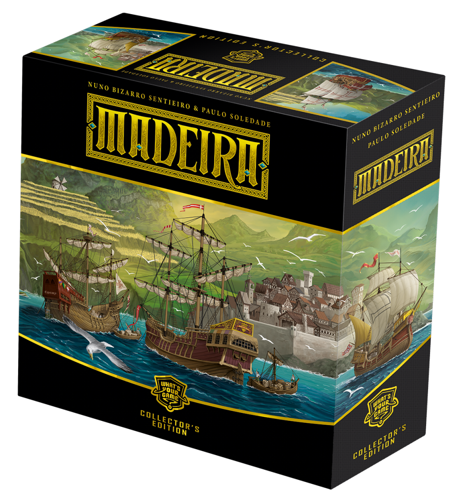 Box Design Madeira Collectors Edition