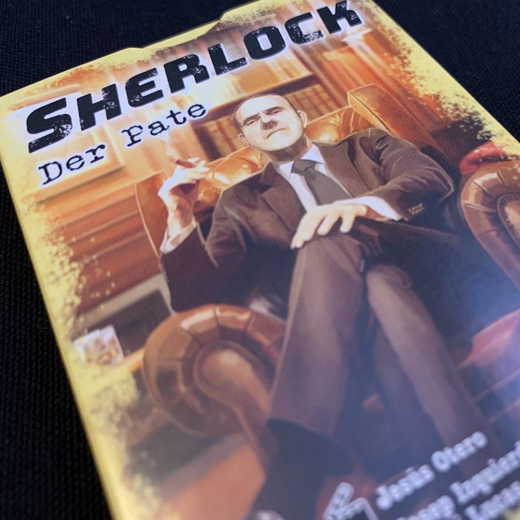 Der Pate Sherlock Abacus Spiele Schachtel und Cover