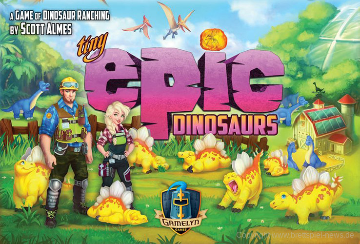 Tiny Epic Dinosaurs Cover