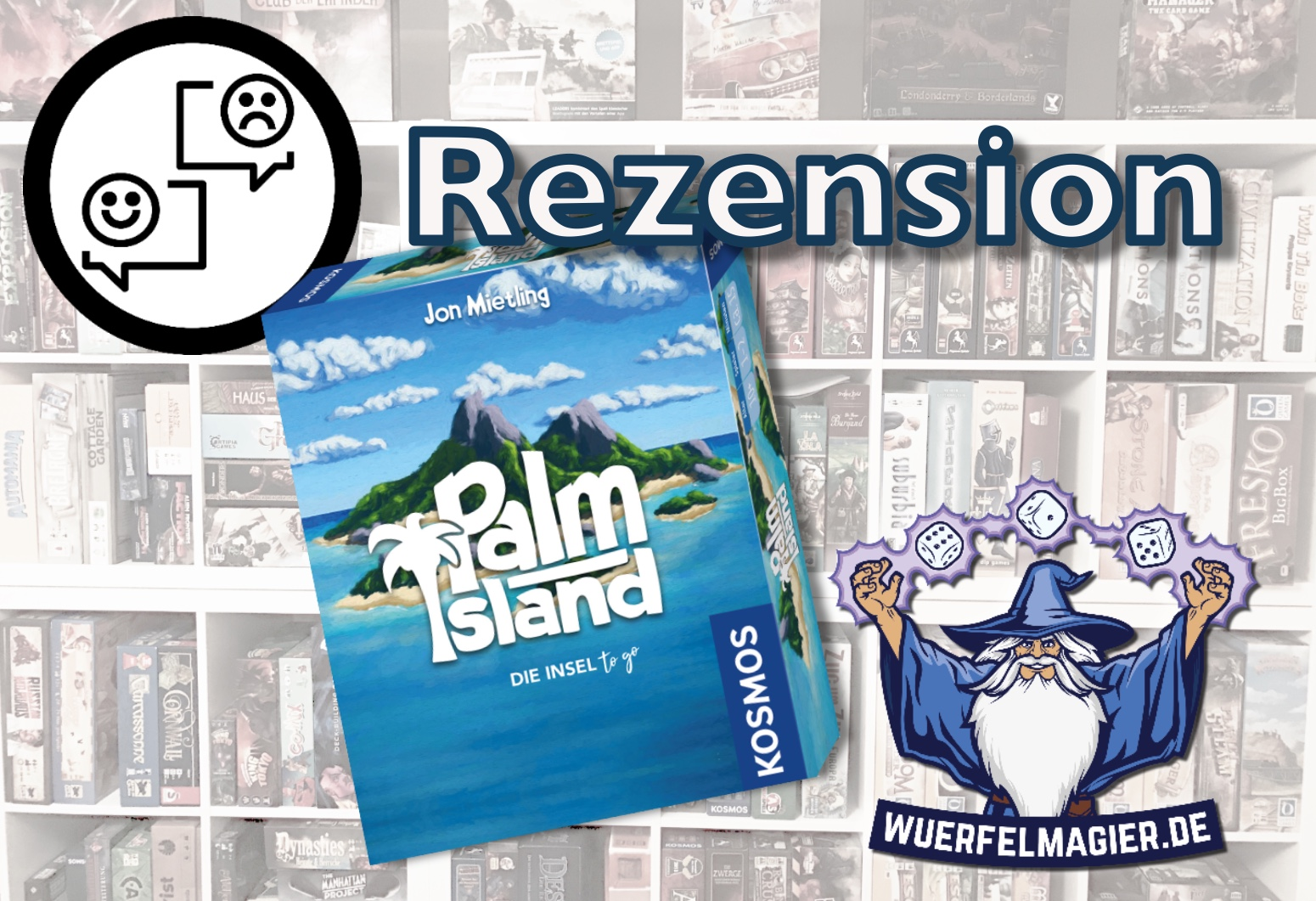 Palm Island Kosmos Cover Rezension